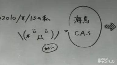 これがかの有名な紅莉栖の「ヽ(*゚д゚)ノカイバー」である! 私も美人科学者がこの絵文字はどうかと思いますが\u2026この一件でクリス=ヽ(*゚д゚)ノカイバーとなったことだけは確か