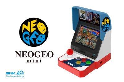 【ネオジオ】「NEOGEO mini」発売日が7/24に決定!価格は11,500円(税別)と意外とお安い!